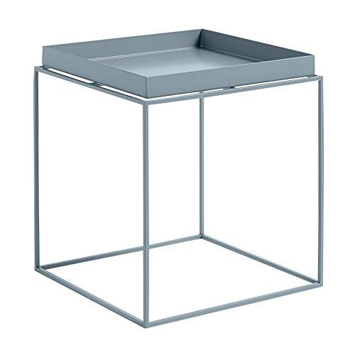 HAY Tray Table Beistelltisch, blau 40x40x44cm Blau Tray