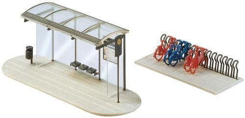 Faller fa272543 - modellismo, fermata del pullman city compact