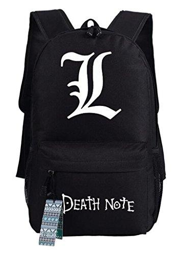Schule Kostüm Freundlich - YOYOSHome Anime Death Note Cosplay Schultasche Daypack Laptop Rucksack Schule Tasche