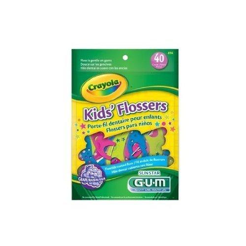 butler-gum-crayola-flossers-896r-30-each-3-packs-by-sunstar-butler