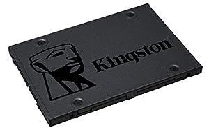 """+ componentes informáticos: Kingston SSD A400 - Disco duro sólido, 2.5"""", SATA 3, 240 GB"""