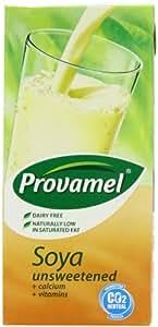 Provamel Unsweetened Soya Milk 1 Litre (Pack of 12)
