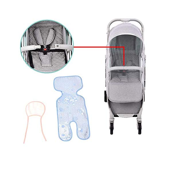 Lightweight Stroller,Compact Travel Buggy Pink,One Hand Foldable,Five-Point Harness,Great for Airplane (Pink) RUXINGGU Size:Suitable from birth up to 25kg, length:66CM, width:48cm, height:98cm.Folding up:60CM*48CM*26CM. Great for Airplane,can be placed in any car boot. Safe:With sturdy aluminum alloy, compact body and five-point seat harness,each stroller has been pressure tested to provide security for each baby. Quality and Design:The backrest of the stroller supports sitting, half lying, lying,all three angles,lengthened and widened sleeping basket. Four wheel independent shock absorbing and built-in bearings make it smoother and quieter. 7