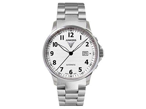 Junkers Herren-Armbanduhr Analog Automatik Edelstahl 6860SM1