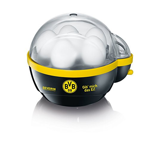 Severin EK 9741 Eierkocher, BVB schwarz  gelb