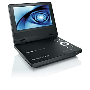 toshiba sd p71dt lecteur dvd portable ecran 18 cm tuner tnt divx mp3 jpeg high tech. Black Bedroom Furniture Sets. Home Design Ideas
