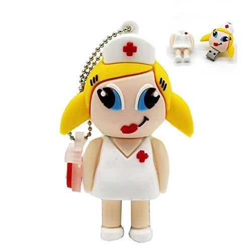 RTYUVN Doctor Nurse Pendrive 32GB USB 2.0 Memoria Pen Drive Stick USB Flash Drives