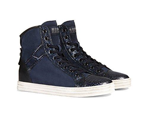 Sneaker Hogan High Top Rebel R182 Blu