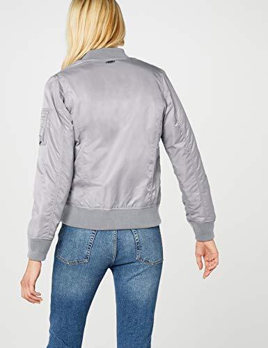 Brandit Damen Jacke Marcy Girls Bomberjacket, (Grau 9), Small - 7
