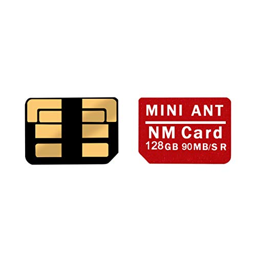 NM Karte 128G 90MB / S Nano Speicherkarte Micro SD Karte Compact Flash Karte, nur für Huawei P30 Serie und Mate20 Serie (128G) geeignet Compactflash Pro Series