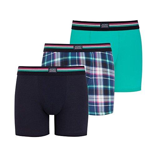 Jockey® Short Trunk 3Pack Blaugrün
