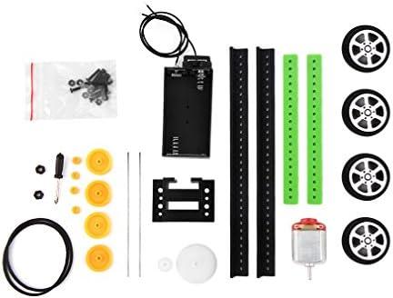 Ndier DIY mini-batterie PoweRouge  Model Car Kit enfants  s cadeau de jouets éducatifs Produits Pour Bébés | Une Grande Variété De Marchandises