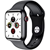 FK88 Smart Watch, series 6 1.78 Inch HD Screen With Encoder Knob bluetooth Music call heart rate monitor Music Women Men smar