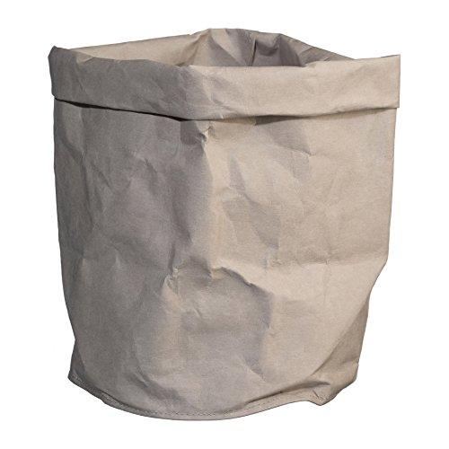 KRAFT PAPER Bag Übertopf Papier 36x24x24cm