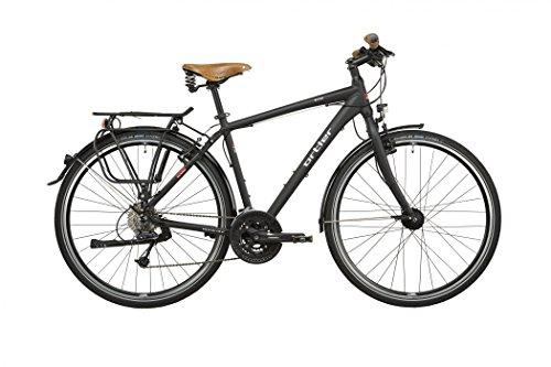Ortler Meran Herren schwarz matt 2016 Trekkingrad