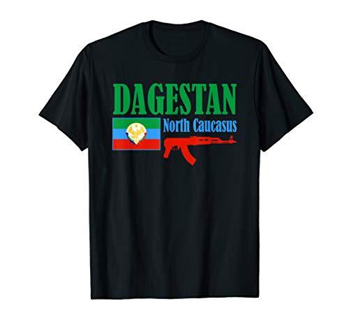 Dagestan Flagge Stolzer Dagestani T-Shirt -