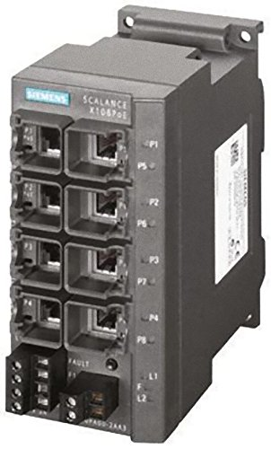 SIEMENS - SWITH IE SIMATIC NET SCALANCE X108POE