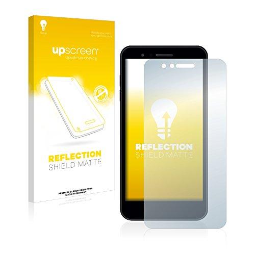 upscreen Entspiegelungs-Schutzfolie kompatibel mit LG K8 2018 - Anti-Reflex Bildschirmschutz-Folie Matt
