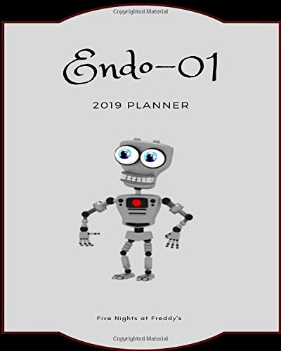 (Endo-01 2019 Planner Five Nights at Freddy's: Calendar, Journal, Diary)