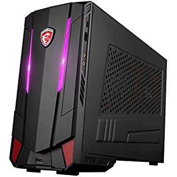 MSI Nightblade MI3 7RB-006EU - Ordenador de sobremesa (procesador Intel Core i5-7400, RAM de 8 GB, 1 TB HDD, NVIDIA GeForce GTX 1050 Ti, Windows 10)