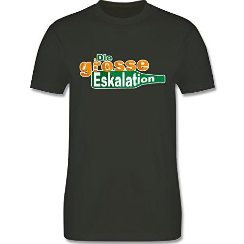 Festival - Die große Eskalation - Herren Premium T-Shirt Army Grün
