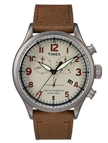 4c62d33d1fa6 Timex Herren Chronograph Quartz Uhr Waterbury Traditional