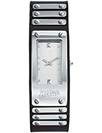 Reloj Mixta–Jean Paul Gaultier–Factory–acero–Pulsera Piel Negro–40* 21mm–8503801