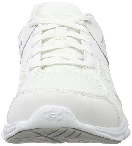 Under Armour UA GS Pace RN, Scarpe Running Unisex-Bambini Bianco (White)