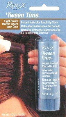 Roux Bâton de retouche instantanée de la couleur des cheveux Tween-Time - Brun clair (Lot de 3)