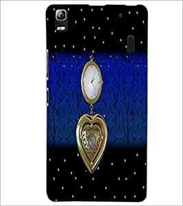 PrintDhaba Antique Watch D-5104 Back Case Cover for LENOVO A7000 PLUS (Multi-Coloured)