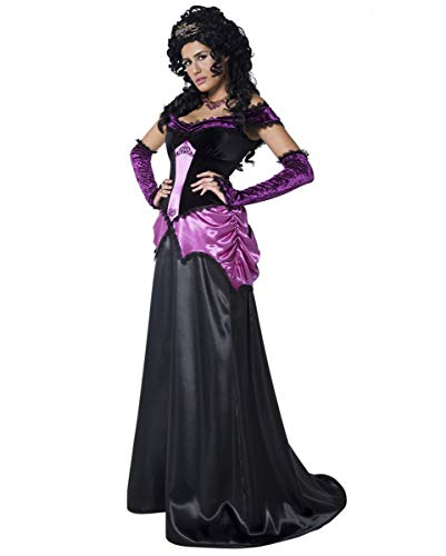 Horror-Shop Vampir-Gräfin Nocturna Kostüm L / 44-46 (Gräfin Nocturna Kostüm)