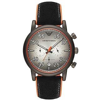 Emporio Armani Reloj Cronógrafo para Hombre de Cuarzo con Correa en Cuero AR11174