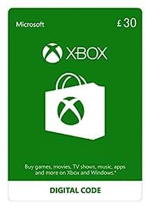 Xbox Live £30 Credit [Xbox Live Download Code]