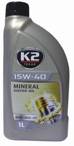 15w40 Motoröl Öl 1 Liter mineral ACEA A3/B3/B4, API SL/CF