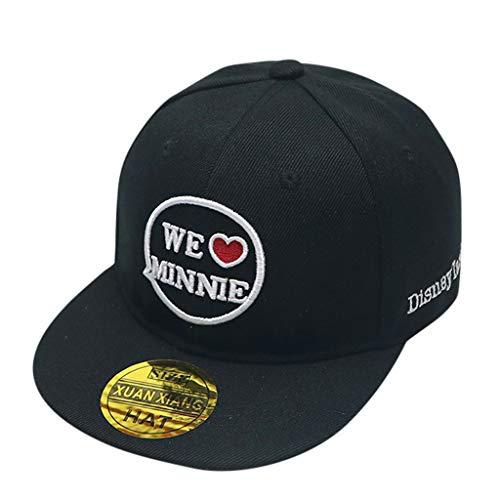 CCIKun Kind Baby Hip-Hop Cap Baseball Kappen Hut Truckers Hat beiläufiger Sonne Hut(Schwarz,Einheitsgröße) (Hut Kind Matrose)