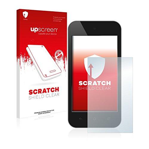upscreen® Scratch Shield Clear Premium Displayschutzfolie für Touch Panels mit 6.4 cm (2.5 Zoll) [50.59 mm x 38 mm, 4:3] Schutzfolie Folie - Kristallklar