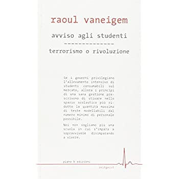 Avviso Agli Studenti-Terrorismo O Rivoluzione