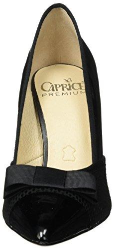 Caprice Damen 22404 Pumps Schwarz (BLACK REPT COM)