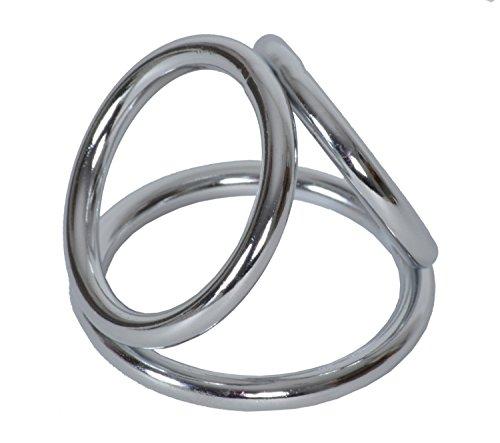 Triple Ring - L Penisring Cockring 3-fach Penisring large