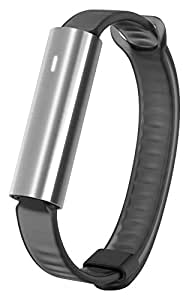 Misfit Ray - Fitness + Sleep Tracker (Stainless Steel with Black Sport Band)