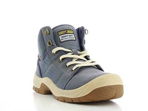 Safety Jogger Chaussures de Sécurité Homme Pas Cher Desert Blue Jeans Bleu