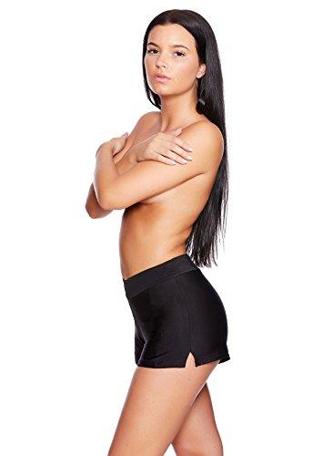 Versandhandel Henry Musch-Malinowski -  Pantaloncini  - Donna Hotpants Black HP4(sw)