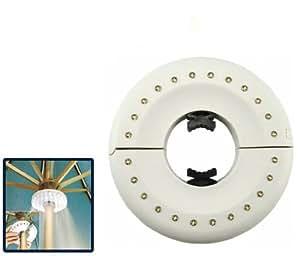 Lampe de Parasol 24 LED Eclairage économique et lumière tamisée