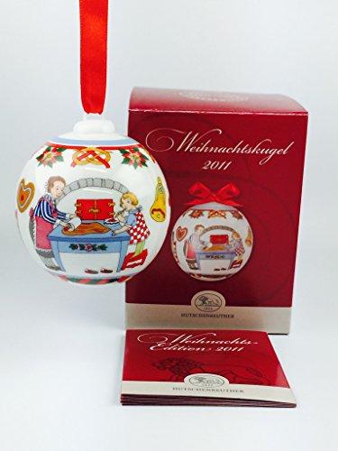 Hutschenreuther Porzellan Weihnachtskugel 2011 in der Originalverpackung NEU 1.Wahl