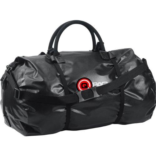 QBag Gepäckrolle Motorrad wasserdicht Rolle wasserdicht 02, Motorrad Gepäckrolle, Motorradtasche wasserdicht, robust, 76 Liter Stauraum, schwarz