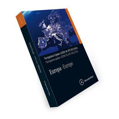 Navigations-Update Audio 50 APS Europa Version 2016/2017 orange NTG2