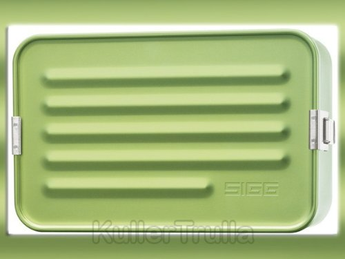 Sigg Accessories Aluminium Boxes Maxi Metallic Green (Schweizer-wasser-flasche Aluminium)