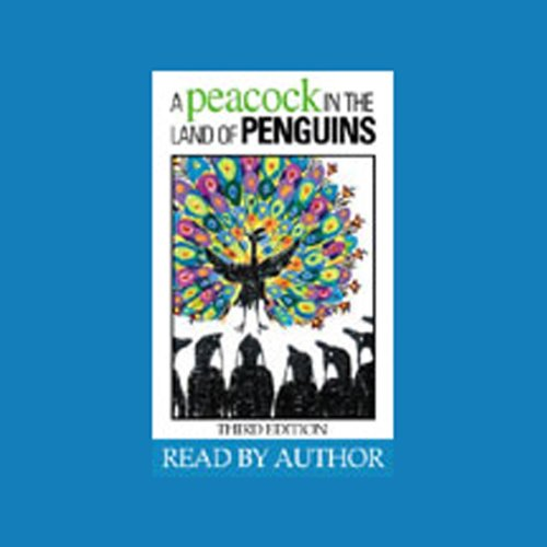A Peacock in the Land of Penguins  Audiolibri