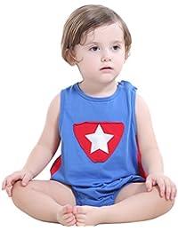 JIAJIA - Body - Sin mangas - para bebé niño