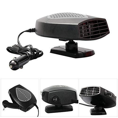 MASO - Calefactor portátil para coche (12 V, 300 W, alta potencia, para coche, parabrisas, calentamiento rápido, descongelador de ventilador para fácil extracción de nieve)